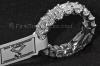 BRILLANTRING | Platin mit Emerald Diamanten 9,5 Karat - Abbildung 3