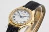 CARTIER | 18 kt. Gold Damenuhr Cougar mit Diamantlünette | Ref. WF 800151 - Abbildung 2